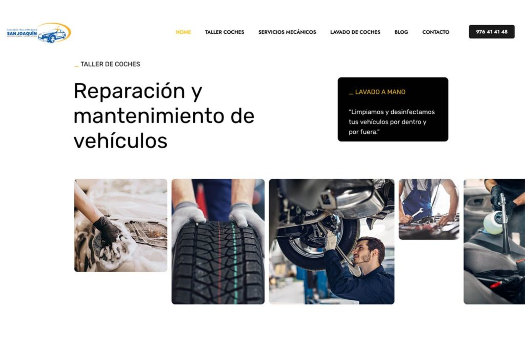 Foto de reparación y mantenimiento de vehículos