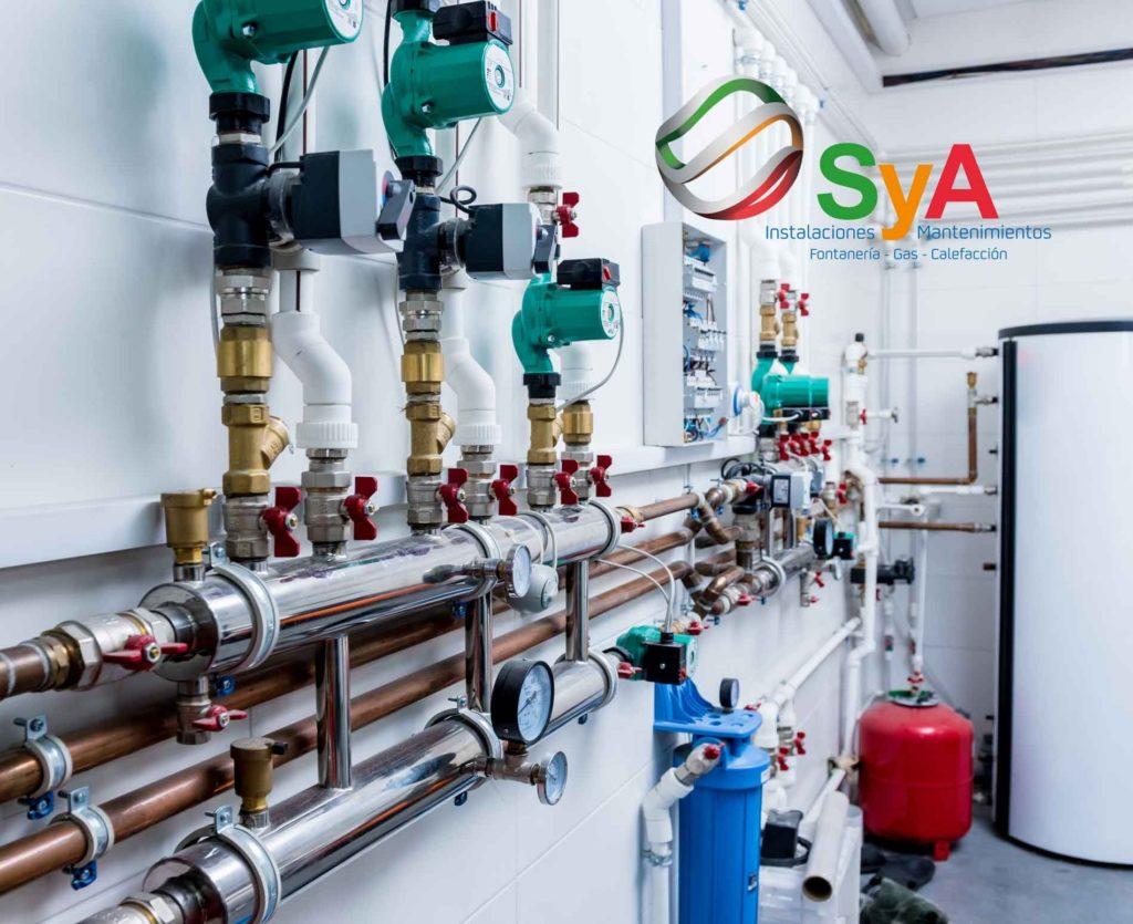 Foto de instalaciones de gas