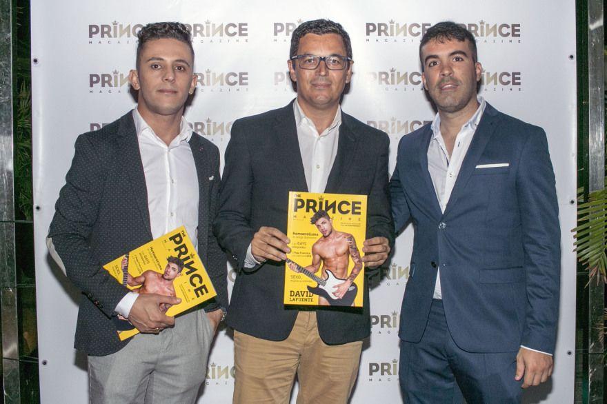 Foto de Presentación de Prince Magazine